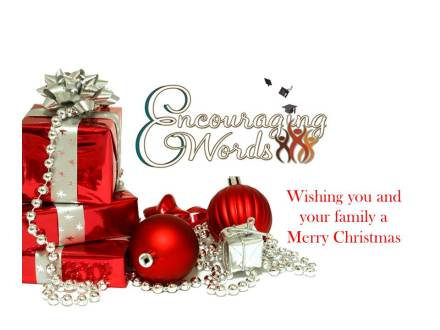 Wishing you a blessed Holiday Season.